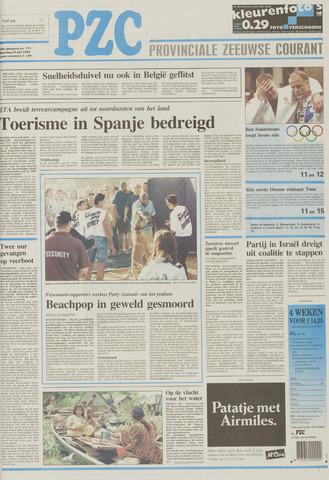 Provinciale Zeeuwse Courant 1996-07-22
