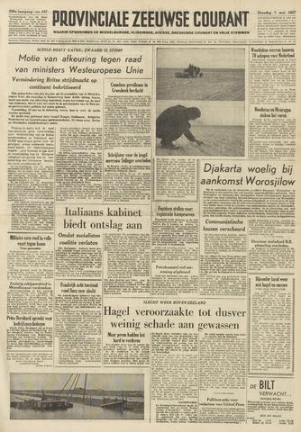 Provinciale Zeeuwse Courant 1957-05-07