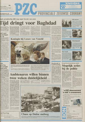 Provinciale Zeeuwse Courant 1991-02-21