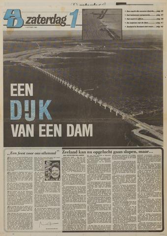 Watersnood documentatie 1953 - kranten 1986-10-04