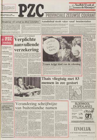 Provinciale Zeeuwse Courant 1987-09-01