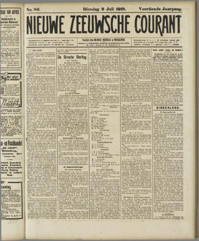 Nieuwe Zeeuwsche Courant 1918-07-09