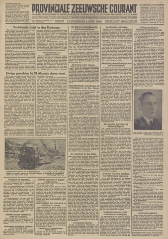 Provinciale Zeeuwse Courant 1942-11-05