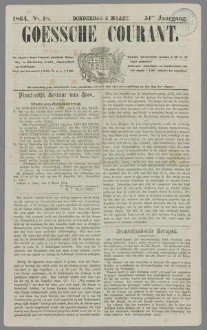 Goessche Courant 1864-03-03
