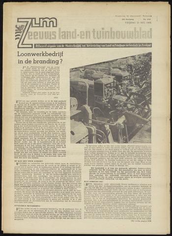 Zeeuwsch landbouwblad ... ZLM land- en tuinbouwblad 1965-05-21