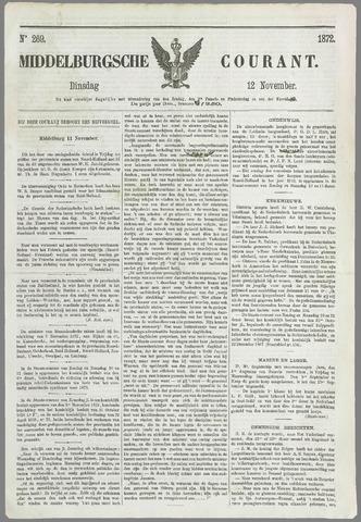 Middelburgsche Courant 1872-11-12