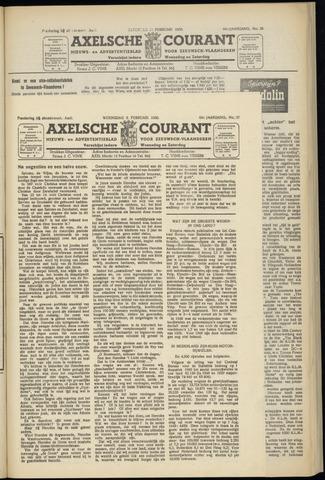 Axelsche Courant 1950-02-08