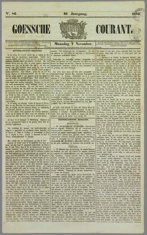 Goessche Courant 1859-11-07
