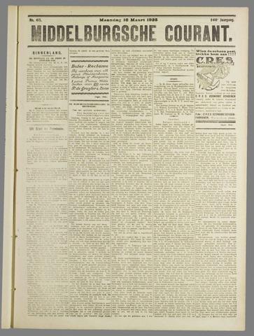Middelburgsche Courant 1925-03-16