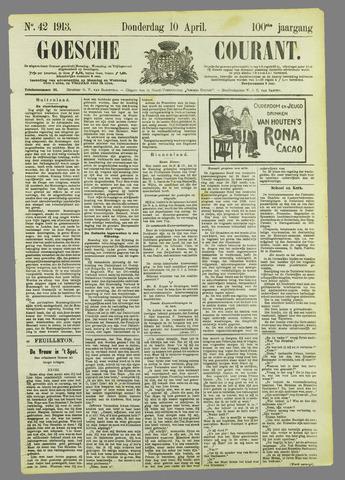 Goessche Courant 1913-04-10
