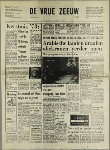 de Vrije Zeeuw 1973-12-27