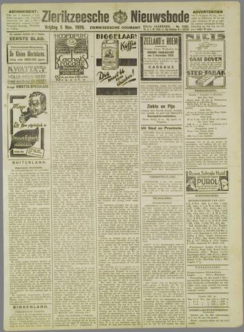Zierikzeesche Nieuwsbode 1926-11-05