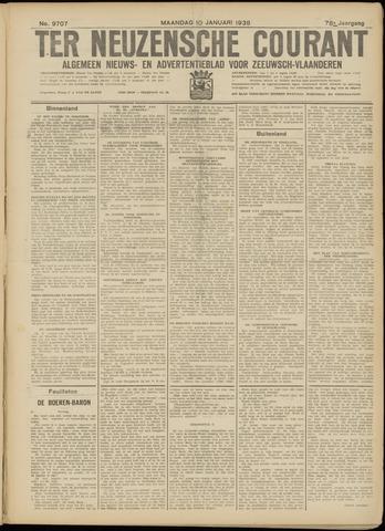 Ter Neuzensche Courant. Algemeen Nieuws- en Advertentieblad voor Zeeuwsch-Vlaanderen / Neuzensche Courant ... (idem) / (Algemeen) nieuws en advertentieblad voor Zeeuwsch-Vlaanderen 1938-01-10
