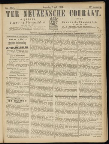 Ter Neuzensche Courant. Algemeen Nieuws- en Advertentieblad voor Zeeuwsch-Vlaanderen / Neuzensche Courant ... (idem) / (Algemeen) nieuws en advertentieblad voor Zeeuwsch-Vlaanderen 1901-07-06