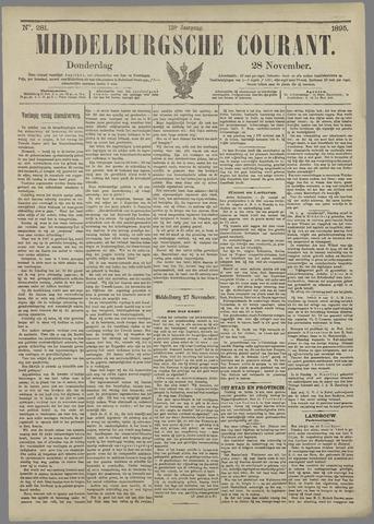 Middelburgsche Courant 1895-11-28