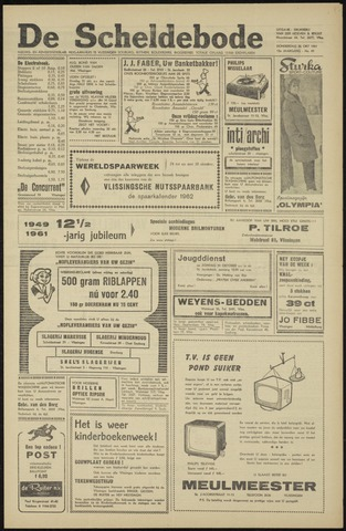 Scheldebode 1961-10-26