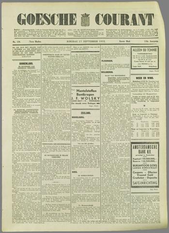 Goessche Courant 1932-09-27