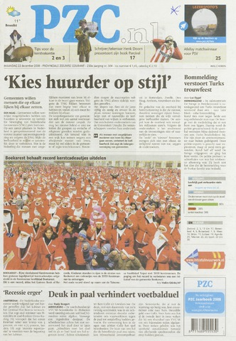 Provinciale Zeeuwse Courant 2008-12-22