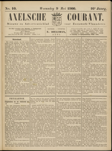 Axelsche Courant 1900-05-09