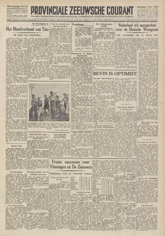Provinciale Zeeuwse Courant 1946-11-04