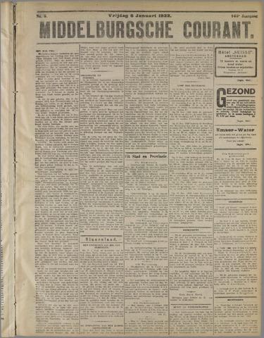 Middelburgsche Courant 1922-01-06