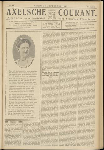 Axelsche Courant 1933-09-08