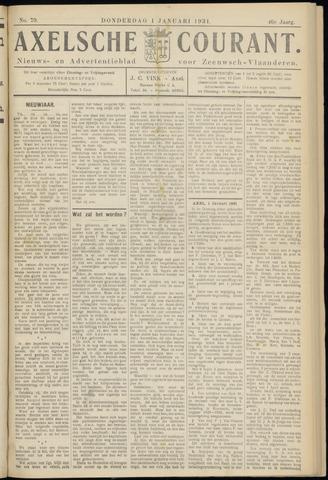 Axelsche Courant 1931