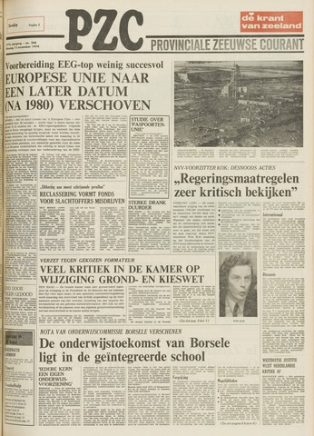 Provinciale Zeeuwse Courant 1974-11-12