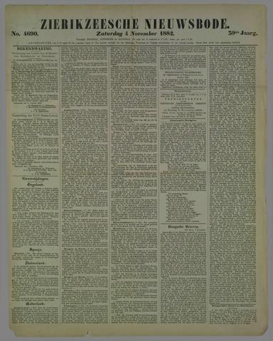 Zierikzeesche Nieuwsbode 1882-11-04