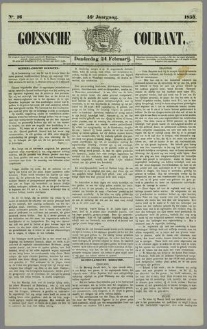 Goessche Courant 1859-02-24