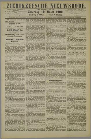 Zierikzeesche Nieuwsbode 1900-03-10