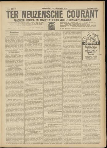 Ter Neuzensche Courant. Algemeen Nieuws- en Advertentieblad voor Zeeuwsch-Vlaanderen / Neuzensche Courant ... (idem) / (Algemeen) nieuws en advertentieblad voor Zeeuwsch-Vlaanderen 1937-01-25