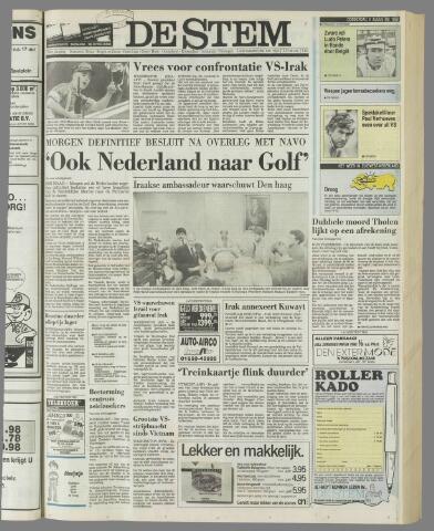 de Stem 1990-08-09