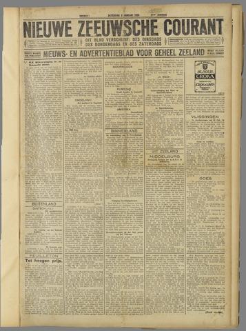 Nieuwe Zeeuwsche Courant 1925