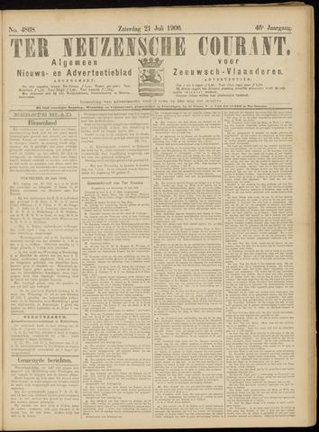 Ter Neuzensche Courant. Algemeen Nieuws- en Advertentieblad voor Zeeuwsch-Vlaanderen / Neuzensche Courant ... (idem) / (Algemeen) nieuws en advertentieblad voor Zeeuwsch-Vlaanderen 1906-07-21