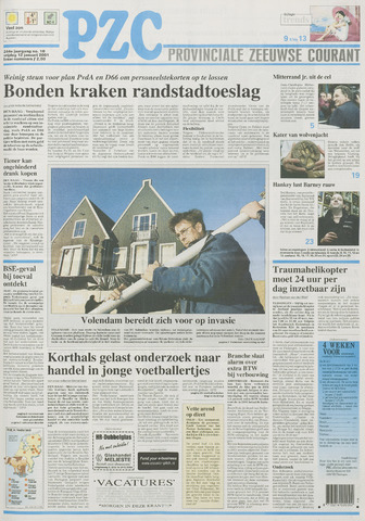 Provinciale Zeeuwse Courant 2001-01-12