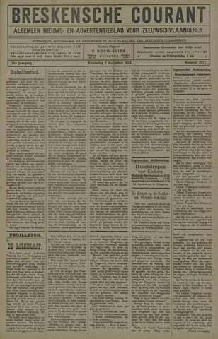 Breskensche Courant 1924-11-05