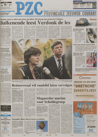 Provinciale Zeeuwse Courant 2006-05-19