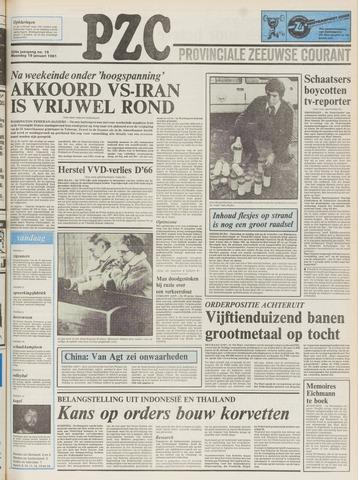 Provinciale Zeeuwse Courant 1981-01-19