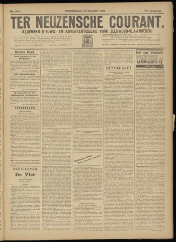 Ter Neuzensche Courant. Algemeen Nieuws- en Advertentieblad voor Zeeuwsch-Vlaanderen / Neuzensche Courant ... (idem) / (Algemeen) nieuws en advertentieblad voor Zeeuwsch-Vlaanderen 1933-03-29
