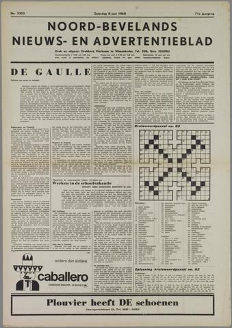 Noord-Bevelands Nieuws- en advertentieblad 1968-06-08