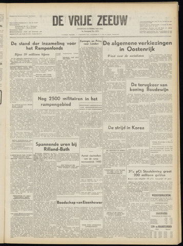 de Vrije Zeeuw 1953-02-24