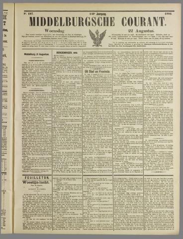 Middelburgsche Courant 1906-08-22