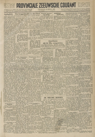 Provinciale Zeeuwse Courant 1945-04-13