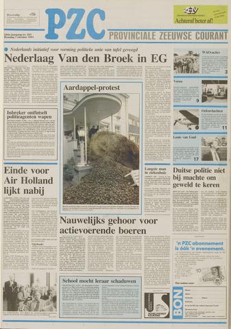 Provinciale Zeeuwse Courant 1991-10-01
