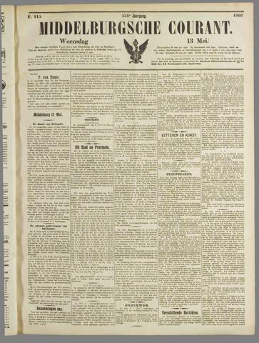 Middelburgsche Courant 1908-05-13
