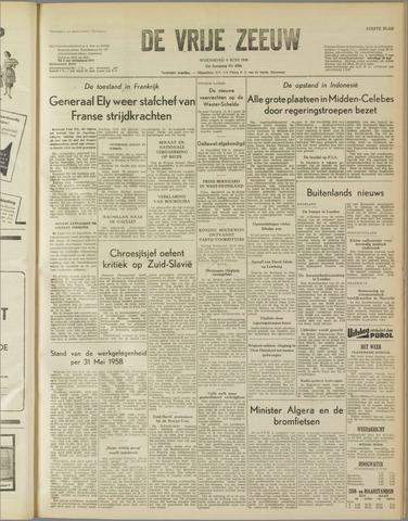 de Vrije Zeeuw 1958-06-04