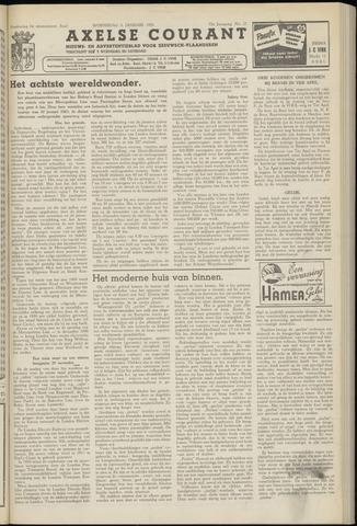 Axelsche Courant 1958-01-08