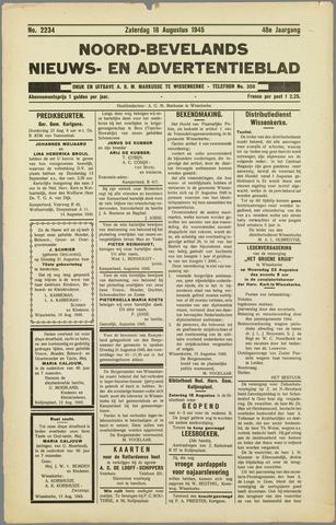 Noord-Bevelands Nieuws- en advertentieblad 1945-08-25
