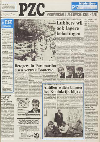 Provinciale Zeeuwse Courant 1987-02-18